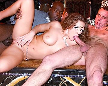 Private  porn video: Double Creampie For Hardcore Oksana  D'Harcourt