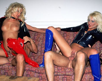 Private  porn video: Latex Lovers Dru Berrymore & Zora Banx Have a Fetish Fourway