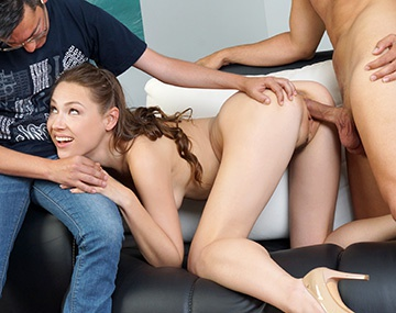 Private HD porn video: Macy Ssens Makes Her Husband Watch