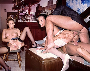 Private  porn video: Michelle Wild and Mandy Bright Have a Legendry DP Orgy