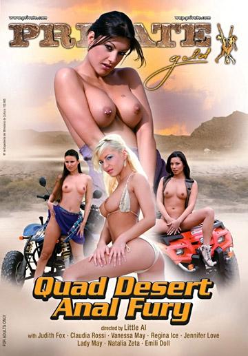 Quad Desert Anal Fury-Private Movie