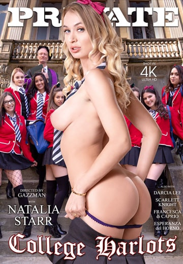 College Harlots-Private Movie