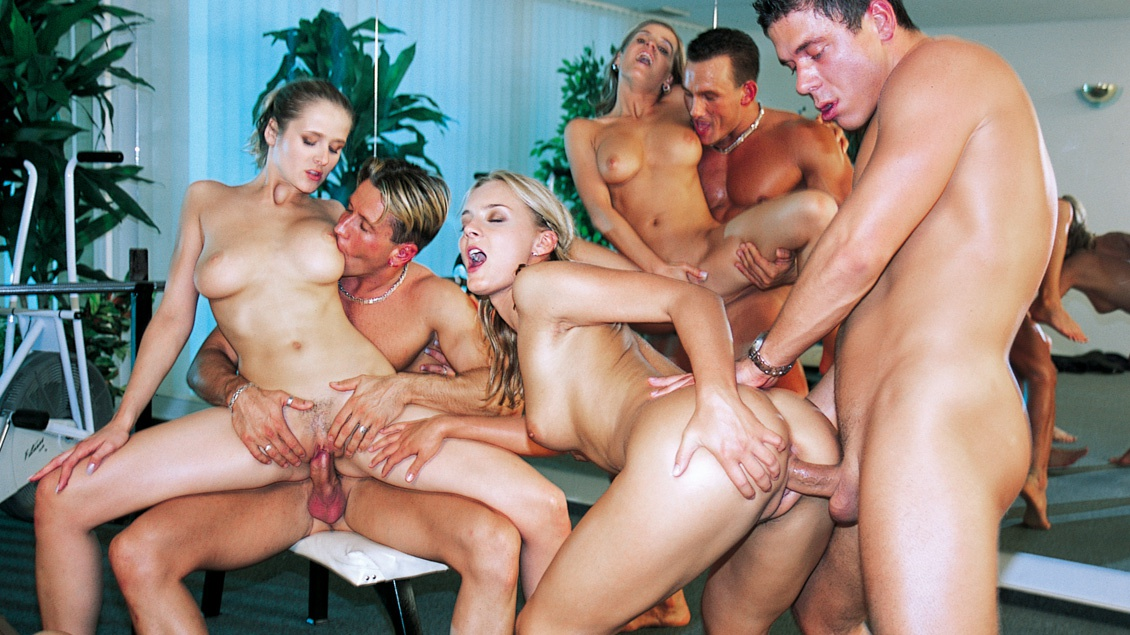 Group sex party house