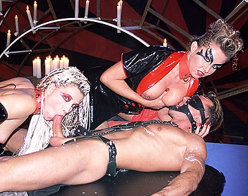 Female domination during sex