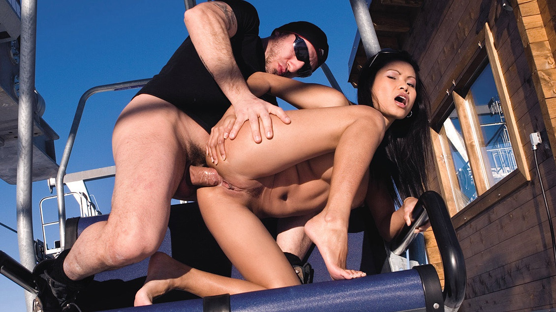 Sex erotic outdoors