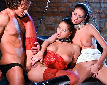 Private  porn video: Angel Dark and Thalia's Kinky Threesome