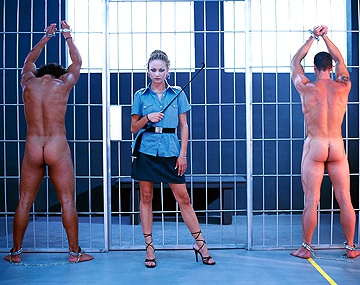 Private  porn video: Alexa May Is a Prison Guard Who Teaches Her Prisoners a Lesson