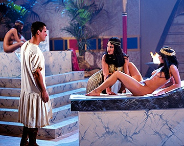 Private  porn video: Cleopatra Is Back and This Time She Is Getting It on in the Spa