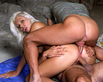 Private  porn video: Angelica Bright Gets an Orgasm as Two Fat Rods DP Her Crotch Holes