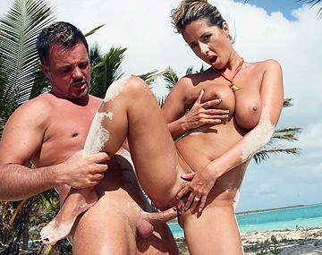 Private HD porn video: Daria will nichts lieber als einen dicken Schwanz in den Arsch