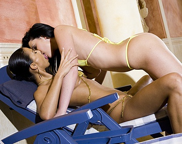 Private HD porn video: Hana Black en el spa con Belicia se comen el coñito y se...