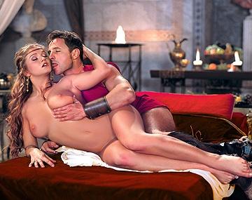 Private  porn video: Rita Faltoyano, la prima del emperador, conspirando con un general le dio por el sexo anal