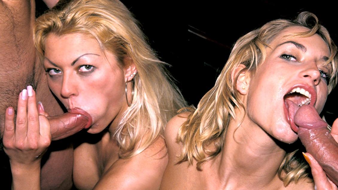 Una de porno clásico con Monique Covet y Sophie Evans