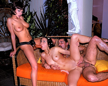 Private  porn video: Michelle Wild Makes Herself Cum While Her Friends Have Strap on Sex