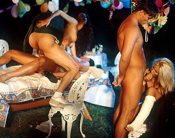 Private  porn video: Cindys Party Becomes an Orgy with DP and Blowjobs with Facials