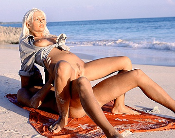 Private  porn video: Angelica Bright Gets Her Tight Ass Fucked on Beach While the Sun Sets