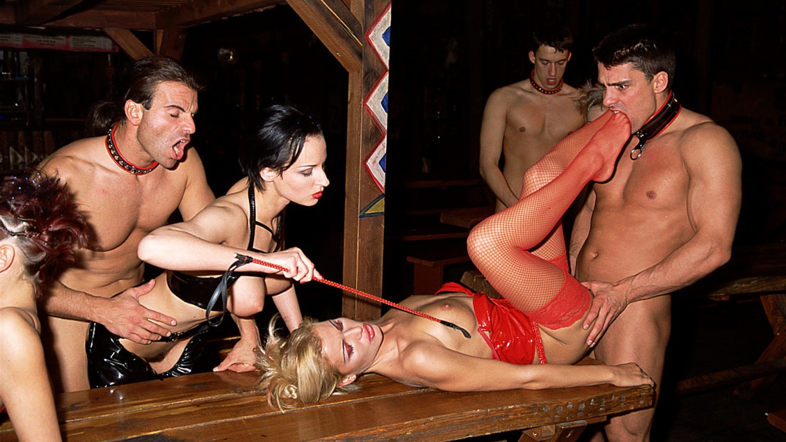 Michelle Wild, Monica Moore Sandra and Sylvie Raz Enjoying a Wild Orgy