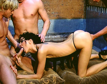 Private HD porn video: Aliz Loves the Idea of Being a Fuck Toy for These Three Horny Guys