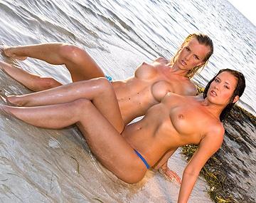 Private  porn video: Katia and Veronica Da Souza on a Boat Giving Blowjobs and Handjobs