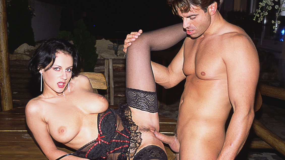 Sexy Brunette Michelle Is Taking a Dick Everywhere She Knows How