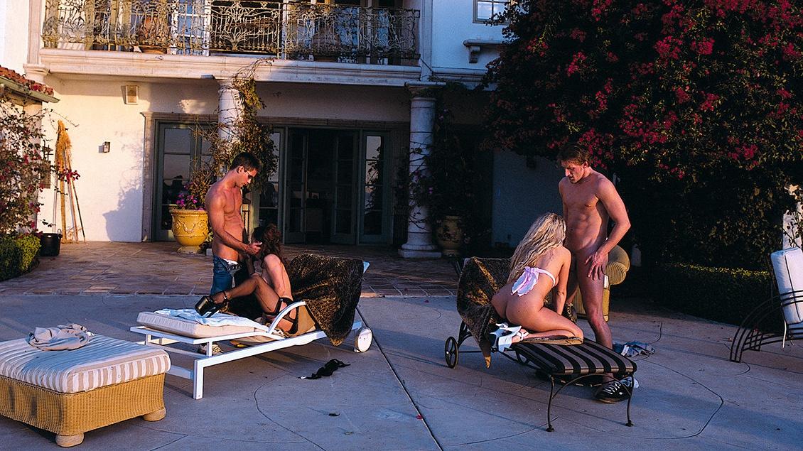 Las bisexuales Austin O'rilley y Petra reciben carne en barra y pescado fresco