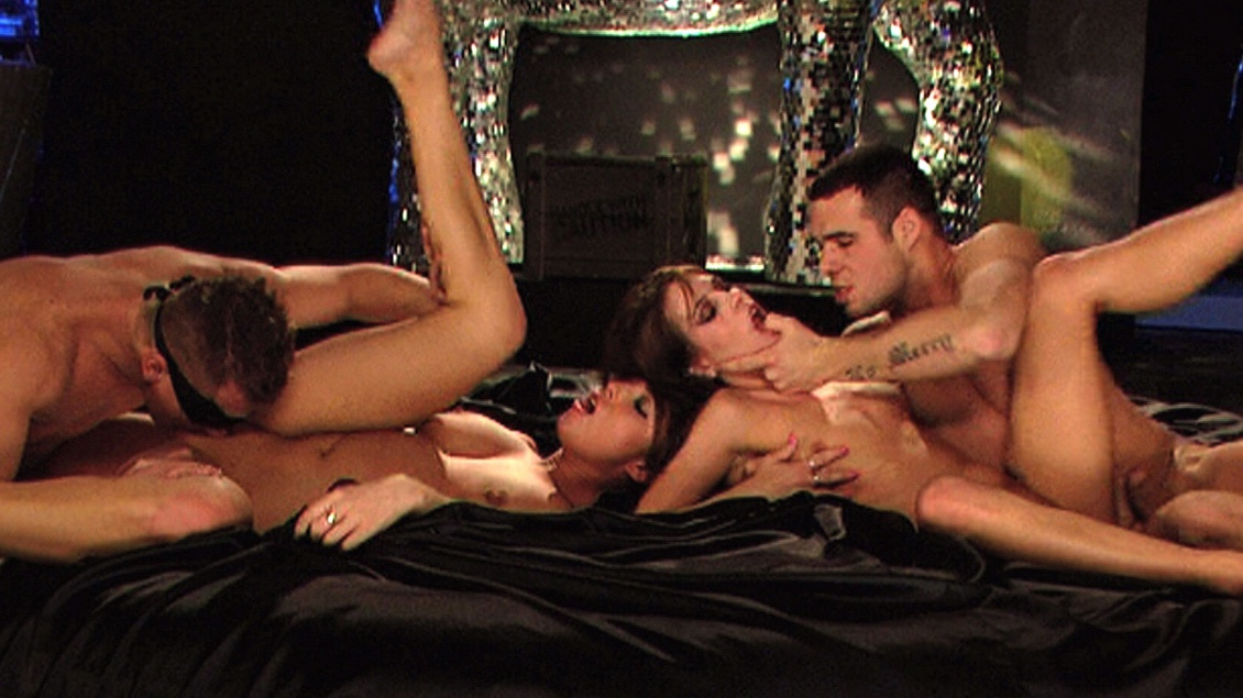Leony April and Stracy Suck Dick and Have a Hardcore MMFF Foursome