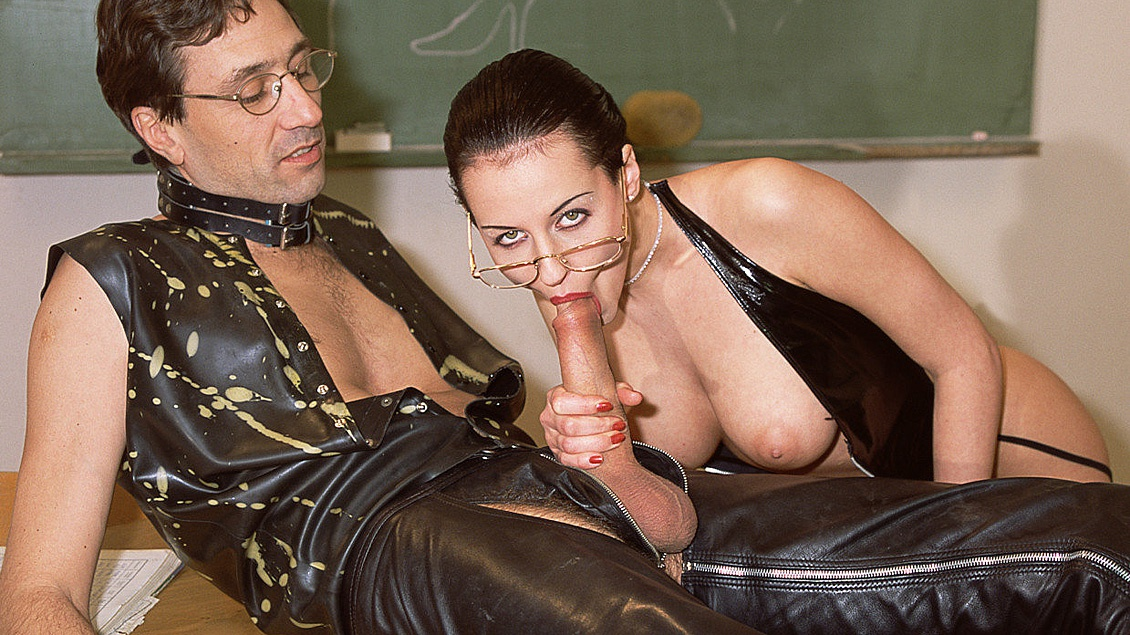 Student Jerks Off Watching His Teacher Michelle WIld Fuck His Classmate