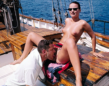 Boat sex scene on