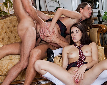 Private HD porn video: Anal Orgy at Sex School