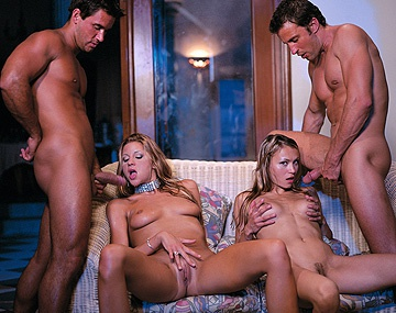 Private  porn video: For a Skinny Woman Monika Sweetheart Sure Can Handle Two Dicks