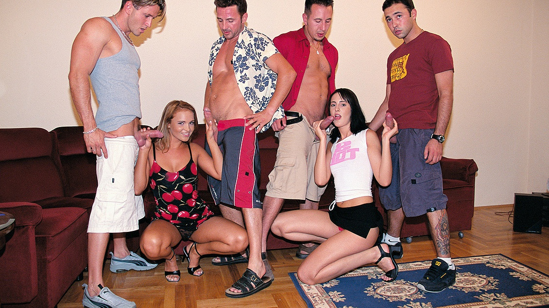 Andy Judit and Young Get Picked up and Taken Home for a Hardcore Orgy