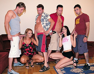 Private  porn video: Andy Judit and Young Get Picked up and Taken Home for a Hardcore Orgy