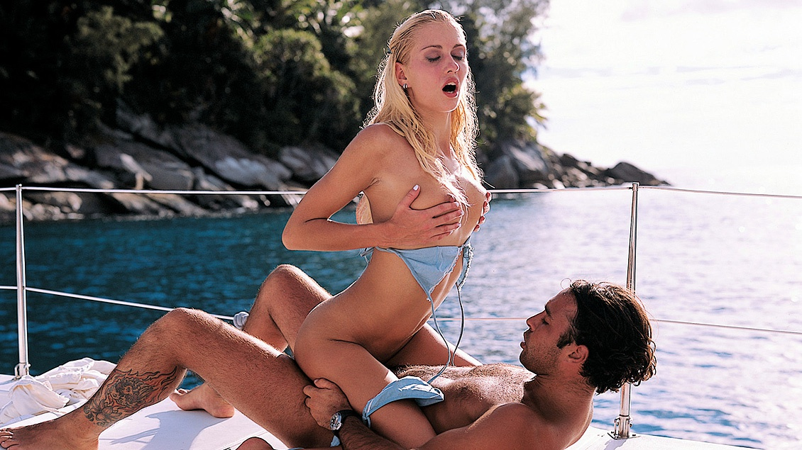 Julie Seduces and Fucks Greg While Sailing in the Tropics