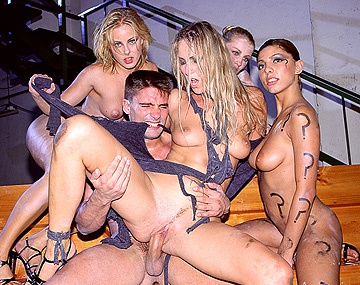 Private  porn video: Four Horny Girls Suck and Fuck Toni Ribas
