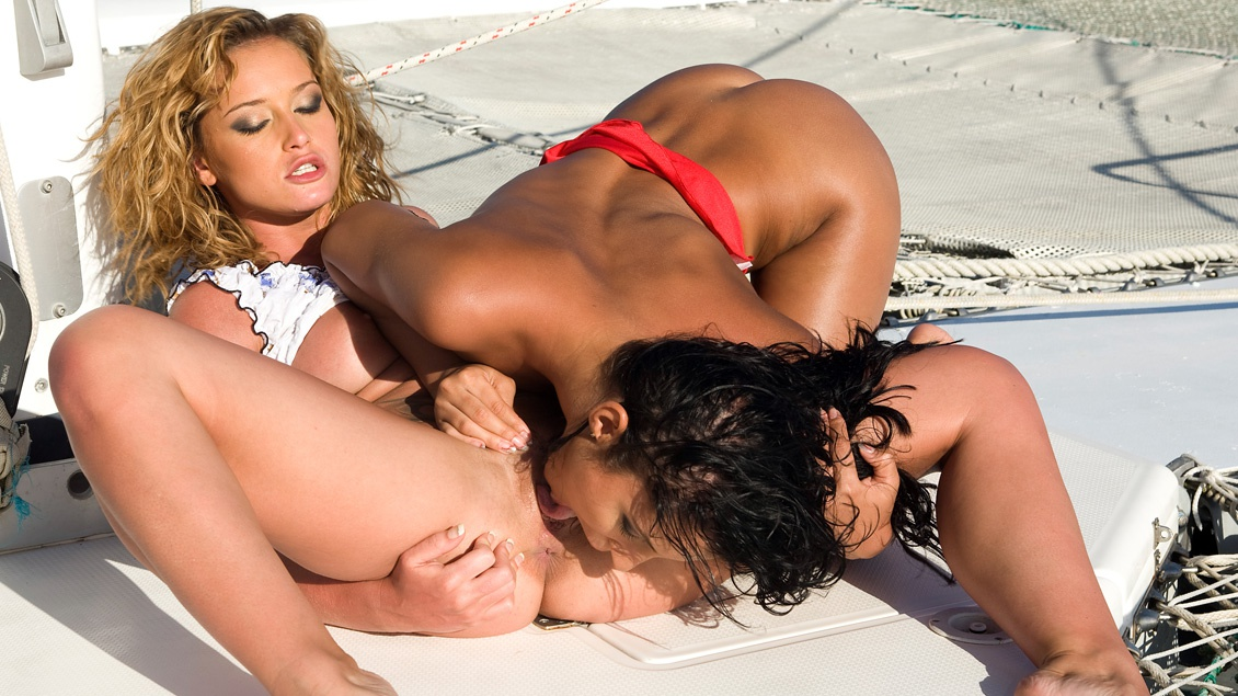 Lucy Belle y Kathy Campbell, lesbianas tropicales