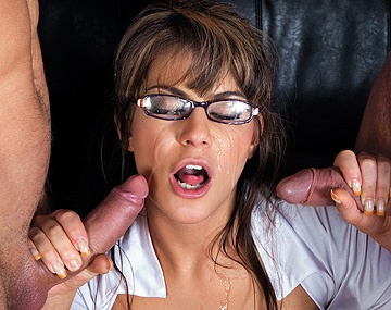 Private HD porn video: Defrancesca Is a Super Sexy Girl in a Plaid Skirt and Glasses