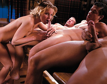 Private  porn video: Tina Wagner Is Covered in Cum after Her Hardcore Gangbang with a DP