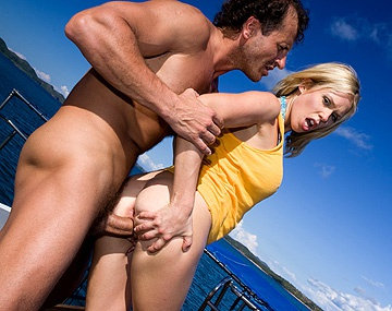 Private HD porn video: Blonde Jamie Brooks Gets Fingered and Butt Fucked While on a Big Yacht