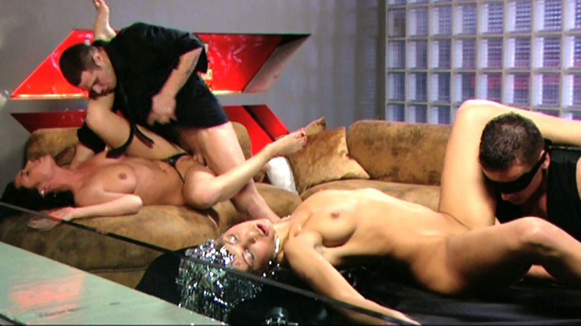 A Massive Facial Is Now Being Served up to Kristi and Stracy