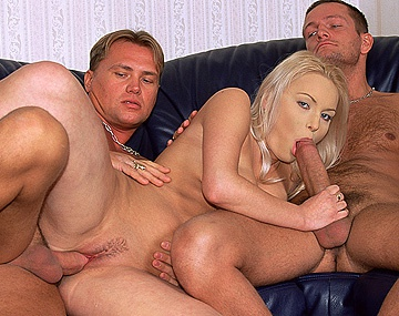 Private  porn video: A Blonde with a Great Pair of Tits Lets a Stranger Plow Her Ass