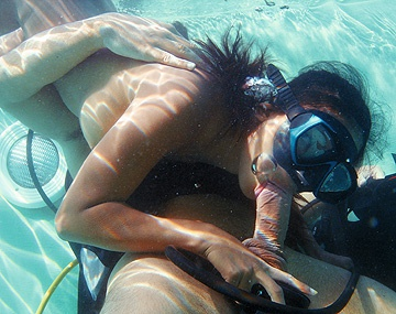 Private  porn video: Priva Is Screwed Underwater before Coming up for a Blowjob and Facial