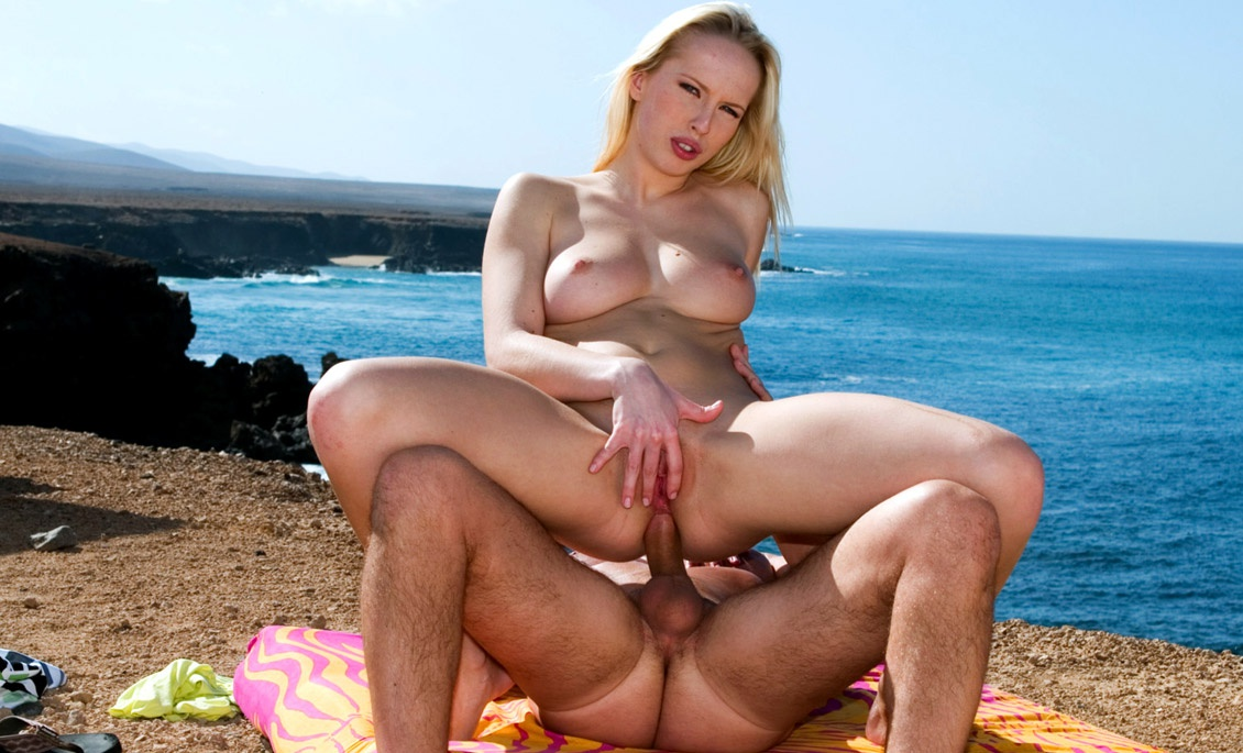 Diana Loves Being Boned Outdoors