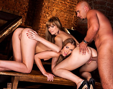 Private HD porn video: Alexis And Charlyse Threeway Play