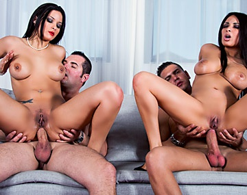 Private HD porn video: Anissa and Jessyca Have Sex with Their Men in a Hardcore Foursome