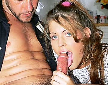 Private  porn video: Gabriella Takes a Facial Cumshot after Fucking Her Friends Father