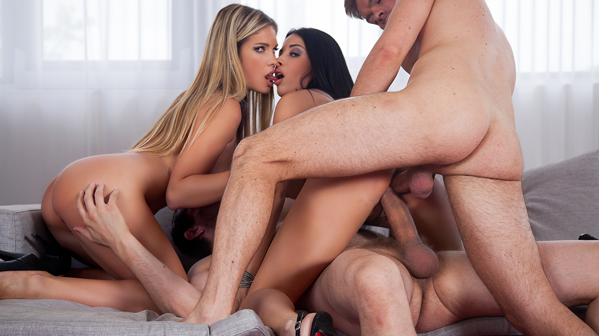 VIP Girlfriends Anissa Kate and Eva Parcker