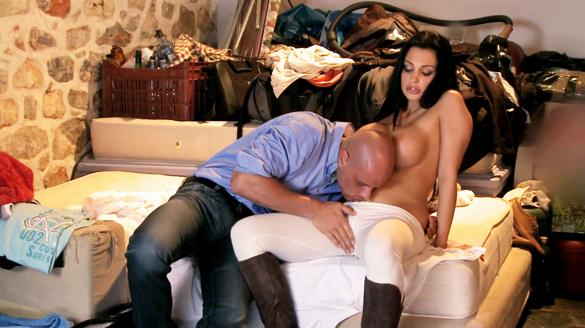 The Big Boobed Brunette Aletta Ocean Gets Licked Fucked and Facialed
