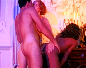 Private  porn video: House Maids Bettina and Sarah Give the Butler a Blowjob in FFM 3 Way