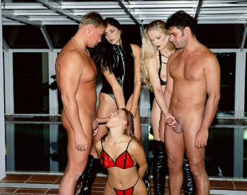 Private  porn video: Mia Stone, Sylvia and Yasmine have a Kinky 3way with Hardcore Action