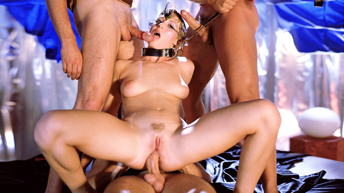 Sex Slave Lynn Stone is Ruined by Three Men